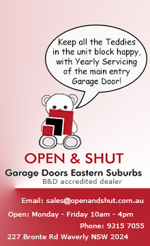 Open Shut Garage Door Repairs